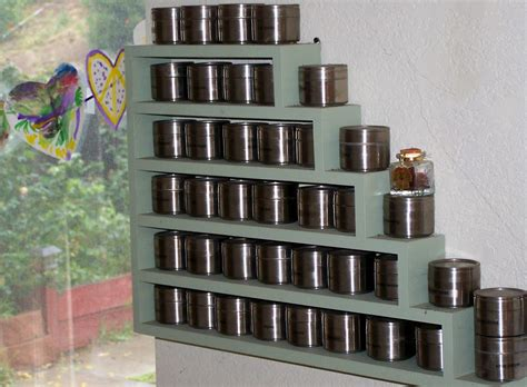 Unfilled Spice Rack by Kitchen Alluring Wall Mount Spice Rack For Your Kitchen
