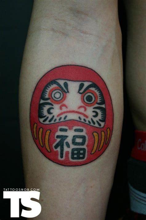 awesome daruma doll tattoos