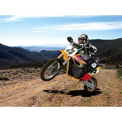 electric motocross bikes razor mx650 dirt rocket electric motocross bike ebay