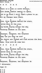 Helpless (song)... Helplessly Lyrics