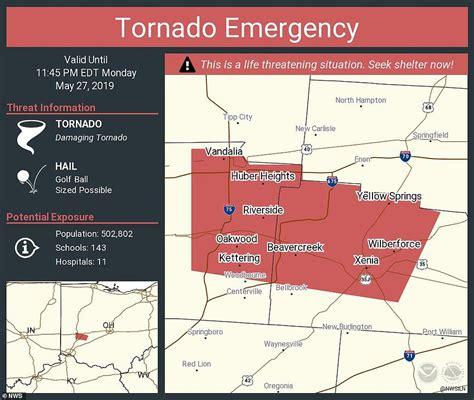 Tornado Montgomery County Dayton Ohio