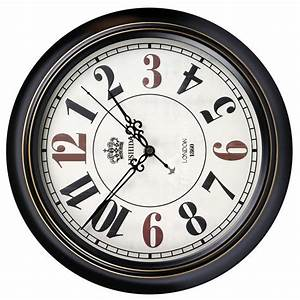 Cool Wall Clocks Round Metal Silent Unique 14/16 Inch ...