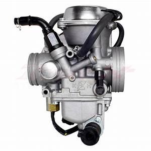 Atv Carburetor Carb For Honda Rancher 350 Trx 350 Fm Tm Te