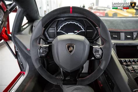 Rosso Bia Lamborghini Aventador Lp750 4 Superveloce