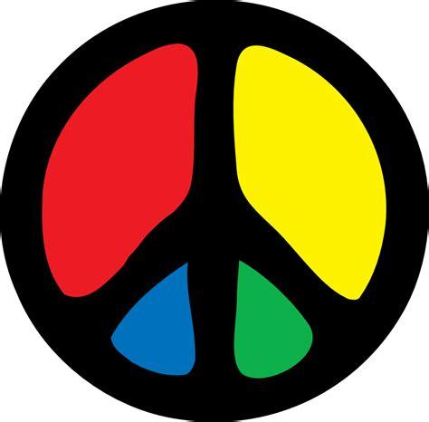 Peace Clipart Clipartist Net 187 Clip 187 Groovy Peace Sign Svg