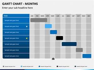 Purpose Of Gantt Chart In Project Management Gantt Chart Powerpoint Template Sketchbubble