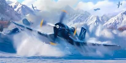 Corsair F4u Ww2 Aviation War Vought Devotion