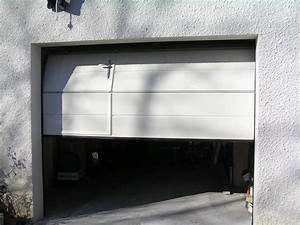 Portail garage portail for Porte de garage coulissante avec porte de service pvc occasion