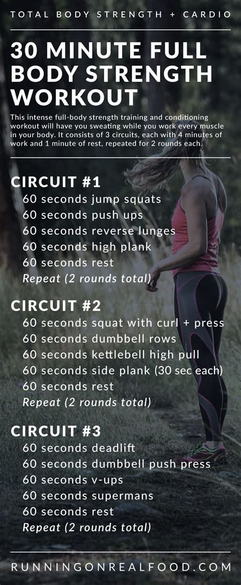 workout strength body training minute gym shares