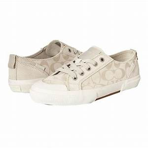 coach tennis shoes pics | COACH Women's Kattie Sneakers ...