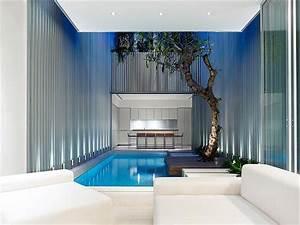 Apartment Contemporary Minimalist Home Design with Indoor ...