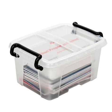 boite de rangement avec intercalaires cep strata boite de rangement plastique 1 7 litres bo 238 te de rangement cep sur ldlc