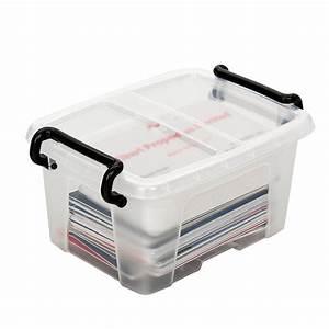 Boite Plastique De Rangement : cep strata boite de rangement plastique 1 7 litres bo te ~ Dailycaller-alerts.com Idées de Décoration