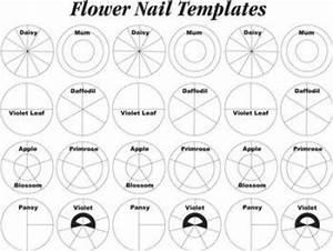 wilton flower nail templates cake cupcake decorating With wilton print templates