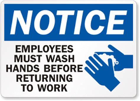 contoh notice bahasa inggris gambar artinya