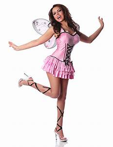 Adult Sexy Pink Butterfly Fairy Costume Halloween | eBay