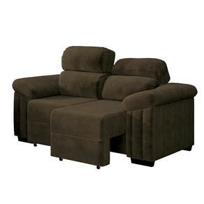 sofá retrátil 4 lugares suede garden sofa assento e encosto retr 195 161 til promo 231 227 o ofertas no