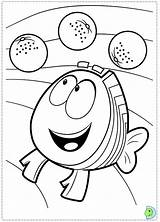 Coloring Dinokids Bubble Guppies Close sketch template