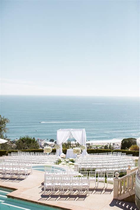 elegant seaside wedding  oceana estate  laguna
