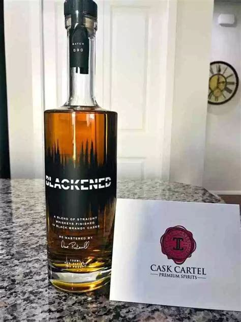 METALLICA | BLACKENED American Whiskey from Cask Cartel ...