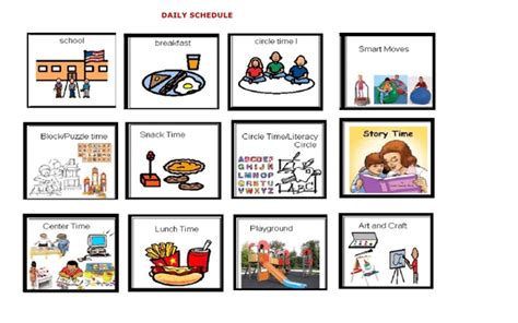 free preschool schedule clipart free images at clker 928 | 15161606651358694461free preschool schedule clipart.hi