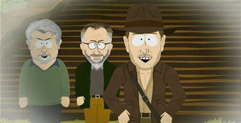 south park movie parodies parody indiana jones