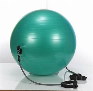 Stel'Air Exercise Ball with Bands – The Inside Trainer Inc. Balls and Bands