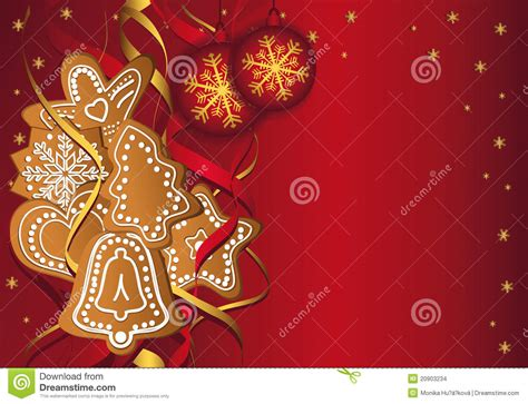 christmas gingerbread templates red stock images image