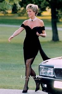 Princess Diana Short Black Off-the-shoulder Cocktail Party ...