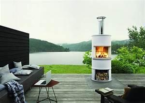 Modern Outdoor Fireplace Ideas Contemporary Medium Outdoor ...
