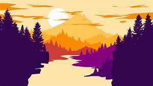 Free, Download, Landscape, Flat, Design, 1, Bundletutorial1