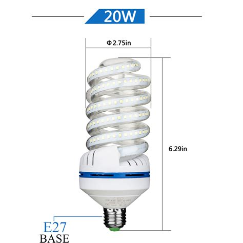 4 pack 1700 lumens non dimmable 20w 200 watt equivalent