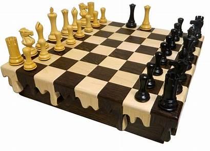 Chess Drip Storage Board Boards Padouk Dali