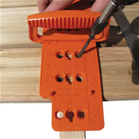 Deck Joist Hanger Jig by Fastcap 888 443 3748 Fastcap Woodworking Tools