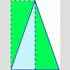 Fileisosceles Triangle Areasvg  Wikimedia Commons
