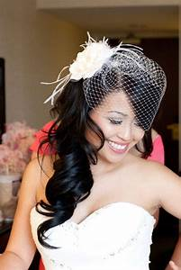 Wedding Hairstyles With Birdcage Elle Hairstyles