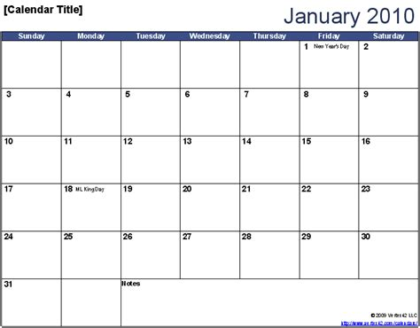perpetual yearlymonthly calendar template