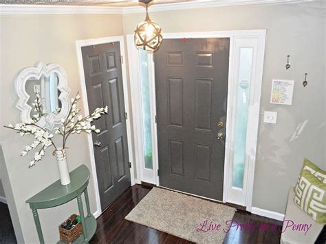 gray painted door hometalk
