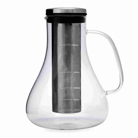Lastly, you can only get the freshest coffee if it is brewed right after it is ground and a grind and brew coffee maker allows you to do just that. Icon Chef Cold Brew Coffee Maker 1500ml - Alternative Brewing