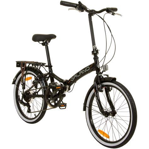20 zoll fahrrad klapprad 20 zoll faltrad city bike galano metropolis