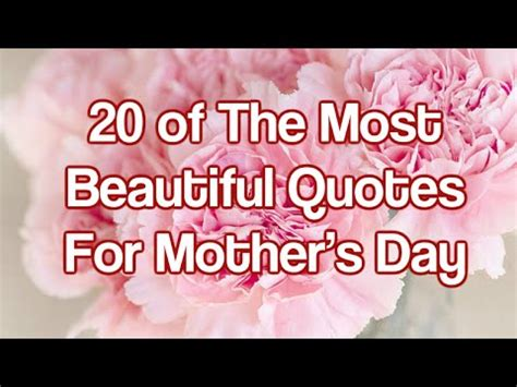 beautiful quotes  mothers day youtube