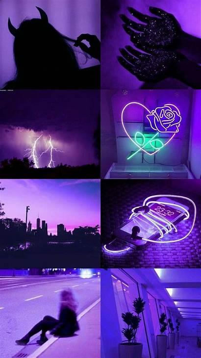 Aesthetic Purple Dark Wallpapers Pc Colors Laptop