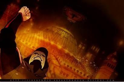 Amon Korra Avatar Legend Nation Seven Army