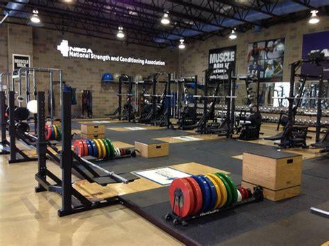 nsca training center weight room installation power lift