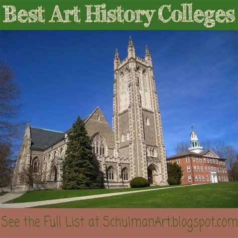 top  art history undergraduate programs schulman art
