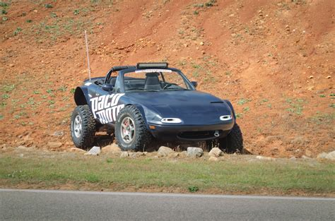 mazda tribute lifted lifted mazda miata is the awesome baja sportscar