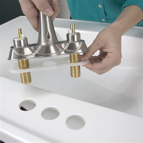 installing kitchen sink faucet replace a bathroom faucet