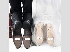 Witzige SchuhsohlenAufkleber zur Hochzeit Geschenkideeat