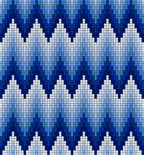 textile arts  bargello patterns