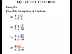 division for 5th graders 6th grade equivalent fractions